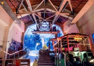 SPOTS#13: Stanica legendárnej lanovky na Lomnický štít ožila vďaka Spots. BOMBING 1