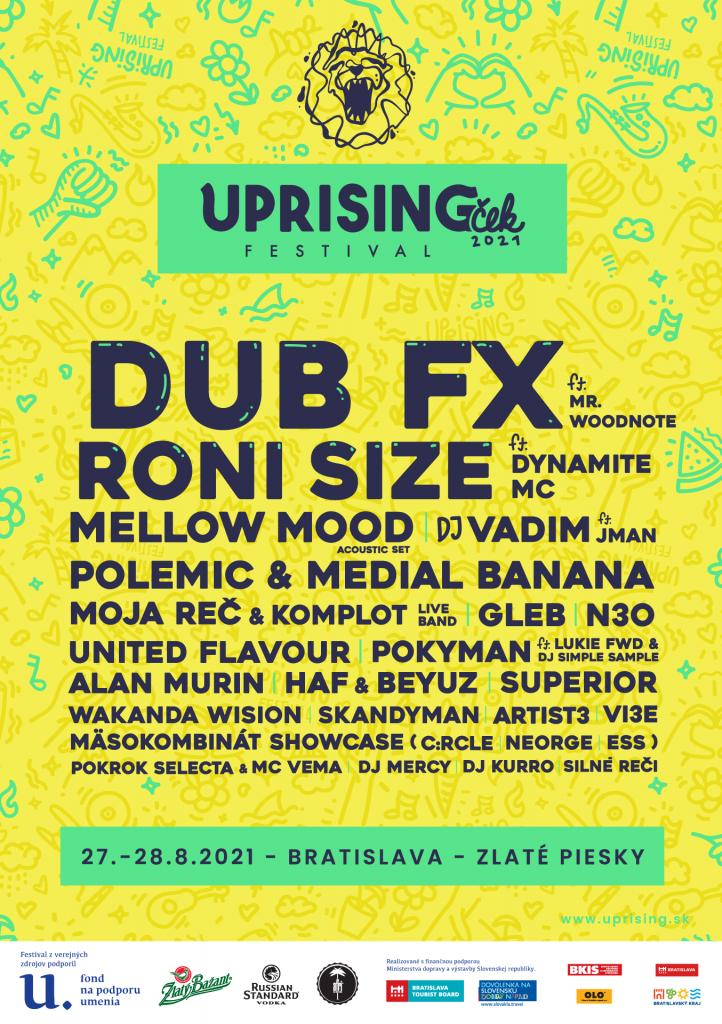 uprisingček poster 2021