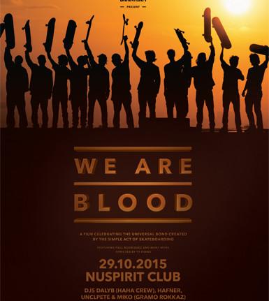 Prelomové skate video We Are Blood mieri na Slovensko! BOMBING