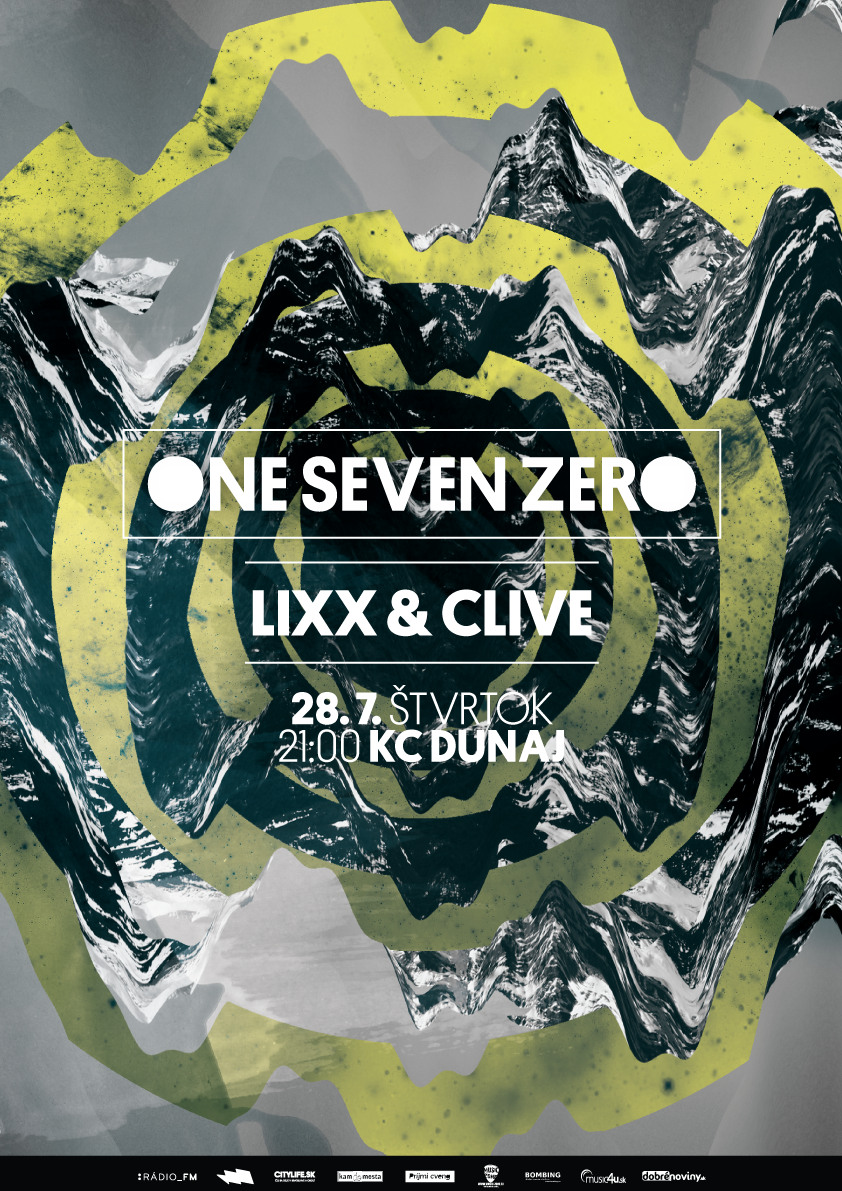 One Seven Zero w. Clive & Lixx @Dunaj~Bar BOMBING